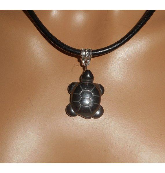 collier homme cuir pierre